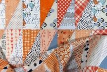 HRT Quilts / This board is all about Half Rectangle Triangle quilt blocks & ideas.