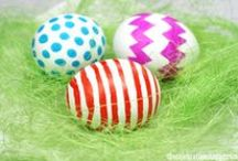 Easter / Easter crafts for kids. / by Jenae {I Can Teach My Child!}