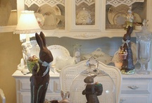 Easter and Spring Ideas / Easter Goodies and Spring Treats some to eat, some because they're lovely! / by Linda Sedgass