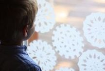 Winter Activities / Snowflakes, penguins and more winter crafts for kids. / by Jenae {I Can Teach My Child!}
