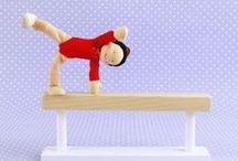Our Dollhouse Dolls / Once Upon A Treehouse Handmade Dollhouse Dolls