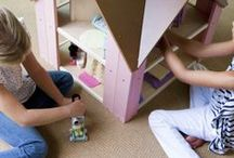 Our Dollhouses / Eco-friendly wooden dollhouses that every kid will love!