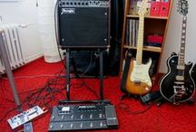 My guitars and amps
