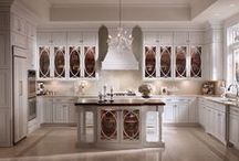 Kitchens: Luxe Transitional / This luxurious style is way ahead of the curve. Part contemporary, part progressive, beautiful Luxe Transitional pushes design to an entirely new level in a way that expresses individual personality and passion. / by KraftMaid Cabinetry