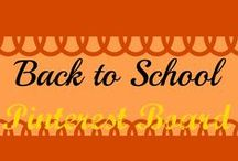 Back to School / Back to school tips, deals, and stories / by Gingermommy
