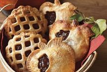 Pies-Cobblers, Crisps, Pie Pockets, Slabs and Tarts / Everything in pie crust or the like!(except Traditional Pies) / by Linda Sedgass