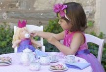 Our Tea Parties / We have everything your little one needs to host the perfect Tea Party!