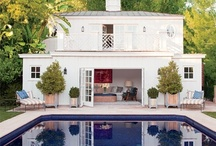 Exteriors, Porches, Pools, & Yards / by Leslie Moncus Chapman