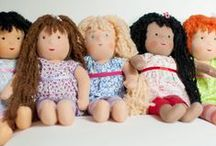 """Our 15"""" Dolls / Once Upon A TreeHouse Handmade 15"""" Dolls"""