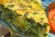 Quiche--Frittatas--Omelets--Strata / Regular, Minis and Muffin-type