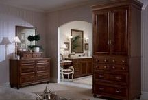 The KraftMaid Bedroom / Great cabinetry extends to the bedroom, too. / by KraftMaid Cabinetry