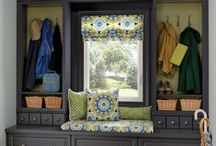 The KraftMaid Mudroom / Spring is here! Keep things organized (and dry) with a custom mudroom. / by KraftMaid Cabinetry
