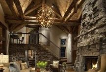 Western Influenced / Rustic/elegant influences from western style.