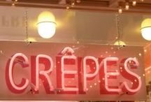 Crepes / Fillings:  sweet and savory