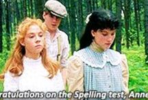 """Anne of Green Gables / An orphan girl named Anne with an """"e"""", and the home she loved-Green Gables, and the family and friends that loved her."""