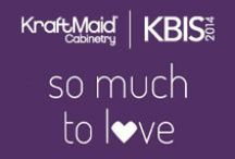 KBIS 2014 / KraftMaid Cabinetry will be at The Kitchen & Bath Industry Show from February 4-6 in Las Vegas. If you're attending, make sure you visit KraftMaid Cabinetry Booth #N2343. / by KraftMaid Cabinetry