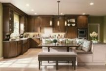 KraftMaid Kitchens & Baths - 2014 / New products from KraftMaid Cabinetry make it easy to create a smart, efficient and attractive kitchen. / by KraftMaid Cabinetry