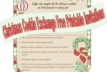 Cookie Exchange/Swap / Ideas for  Cookie Exchange Party!