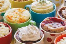 Microwave Mug Recipes / Make Individual Servings of Cake, Cookies, Brownies,,,,in a mug!
