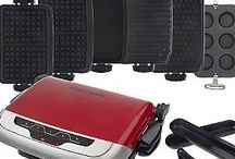 George Foreman Evolve Grill / Recipes to make:  Grilling-Waffles-Deep Dish Pan
