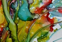 Alcohol inks / by Kathy Kolley Quarles