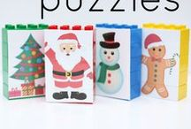 Christmas and Winter Ideas from ICanTeachMyChild.com / Christmas and winter-themed kids crafts and activities featured on ICanTeachMyChild.com / by Jenae {I Can Teach My Child!}