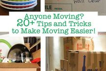 MOVING / Tips to make a move easier!
