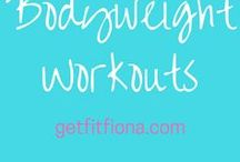 Body weight workout / Body weight workouts
