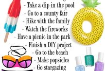 Things To Do-Seasonally / Fun activities that come with each season!
