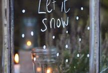 w i n t e r / Let it snow