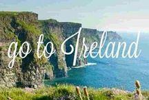 Ireland / I love Ireland like no other place. / by Robin Elizabeth