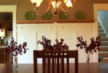 Wall treatments / Ideas for family room walls / by Amy Kerkemeyer