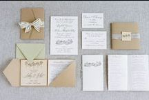 Inviting Stationery / Set the tone for your wedding with a stationery suite matched to your theme.