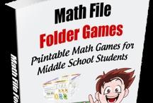 File Folder Math Games