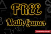 Free Math Games / Play cool free math games for kids with our huge collection of free learning math games. A listing of all the free math games that are available through the MathFileFolderGames.com. This huge list of free math games for 2nd grade, 3rd grade and 4th grade, all the way up to 8th grade kids. These free math games include multiplication, equivalent fractions, order of operations, addition, place value, rounding numbers, comparing numbers ...