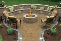 Outdoor Living, Landscaping, Pool & Patio / by Jill