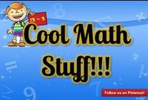 "Cool Math Stuff!!! / Math is cool! Find some fun cool math games for kids, cool math problems, cool math lessons, cool math games, fun math activities & along with other cool math stuff! This is a public board for all things ""COOL"" MATH! / by MathFileFolderGames"