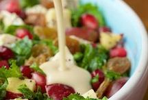 Soup & Salad / Soup & salad - not just a side, but a delicious meal.