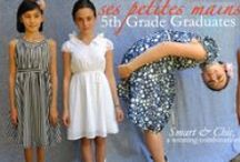 5th grade graduation dresses from Ses Petites Mains / Our dresses for girls & tweens are the must-have dresses for her 5th grade graduation.  Looking modern, stylish and appropriate, Ses Petites Mains dresses for 5th Grade Promotions let her 'dress like a girl' and shine as she should, on her big day.  Ideal for Middle School or Elementary School graduation.  Ses Petites Mains is thrilled to produce these dresses, and all our tiny chic clothing, right here in San Francisco. 5th, grade, graduation, dresses