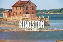 Kingston, MA / The Town of Kingston is a coastal community in Southeastern Massachusetts located about 35 miles south of Boston. Kingston is principally a residential community with a small number of professional fishermen and cranberry growers.  / by Cherie Poirier