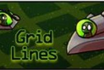Grid Lines: Ordered Pair Game / The objective of this game is to score the highest points by using ordered pairs, drawing a line that passes through or touches shapes that are located in all four quadrants of the coordinate grid. Grid Lines is a Battleship-style math app used to teach students the coordinate plane.  http://www.mathfilefoldergames.com/my-math-apps/grid-lines-ordered-pair-game-app/
