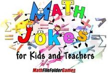 Math Jokes & Humor / This page contains funny Math Jokes & Math Humor. Wouldn't you feel better about doing your Math homework if you could laugh at it? http://www.teacherspayteachers.com/Product/Math-Jokes-for-Kids-and-Teachers-968333