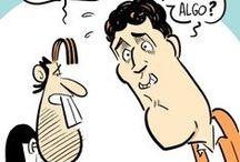 Humor / Historietas de humor de Agencia Télam, por Podetti - Parés / by Agencia TELAM