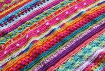Crochet: Afghans, throws, etc