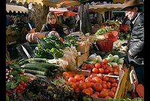 Traditional market, market stall