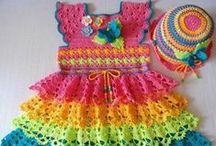 Crochet: Baby & Kid Dresses/Sets