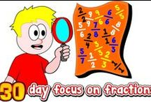 """Fractions / ONLY Fraction related pins!!! This is """"THE"""" place to go to find inspiration when your trying to teach fractions. This is a collaborative board, if you have a great idea on how to teach fractions please join. Contact me for an invite: http://www.mathfilefoldergames.com/contact/"""