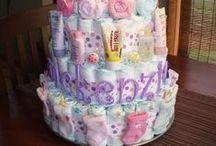 Diaper Cakes/Baby Cakes