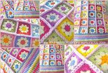 Crochet: Pieced Afghans