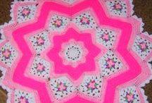 Crochet: Round Ripple & Star Blankets